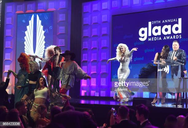 Atmosphere during the 29th Annual GLAAD Media Awards at The Hilton Midtown on May 5 2018 in New York City