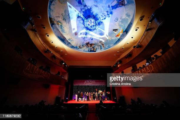 Atmosphere during the Alta Mar second season preview by Netflix at Noia Festival at the hometown of its creator Ramon Campos on November 8 2019 in...