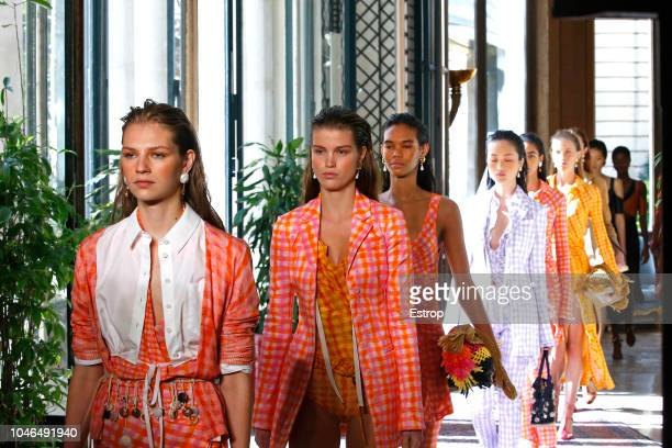 Atmosphere during the Altuzarra show as part of the Paris Fashion Week Womenswear Spring/Summer 2019 on September 29 2018 in Paris France