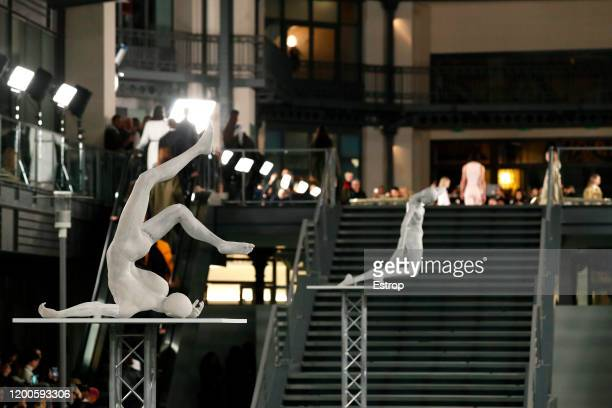 Atmosphere during the Alyx Menswear Fall/Winter 2020-2021 show as part of Paris Fashion Week on January 19, 2020 in Paris, France.