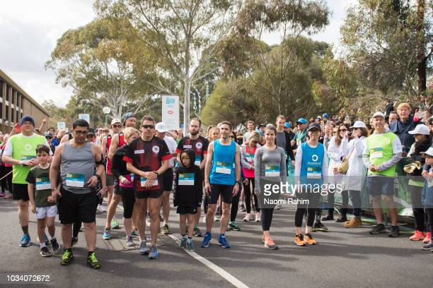 Atmosphere during the annual Wellness Walk and Research Run on September 16 2018 in Melbourne Australia The annual event now in it's sixth year...