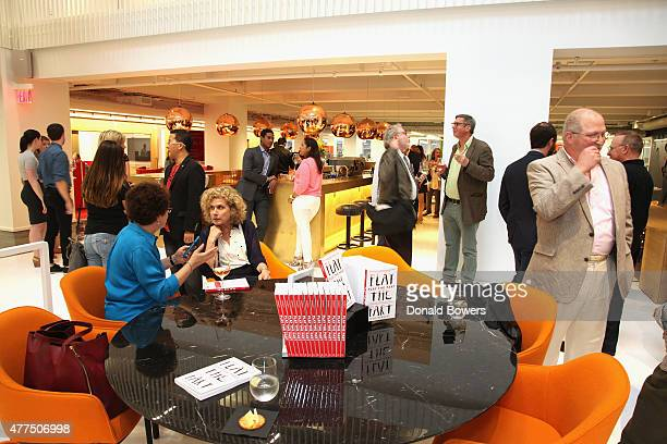 Atmosphere during the book release party for Gina Barnett's Play the Part at GLG on June 17 2015 in New York City