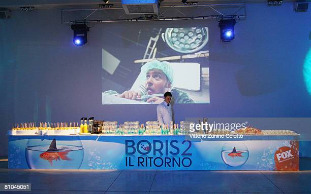 Atmosphere during the 'Boris 2' Party Launch Organized By Fox TV on May 09 2008 in Milan Italy