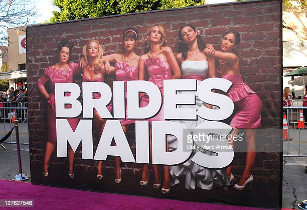 """Atmosphere during the """"Bridesmaids"""" Los Angeles Premiere at Mann Village Theatre on April 28, 2011 in Westwood, California."""