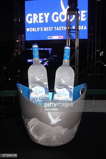 Atmosphere during the Carolina Herrera Fashion Show with GREY GOOSE Vodka at the Cadillac Championship at Trump National Doral on March 7 2014 in...