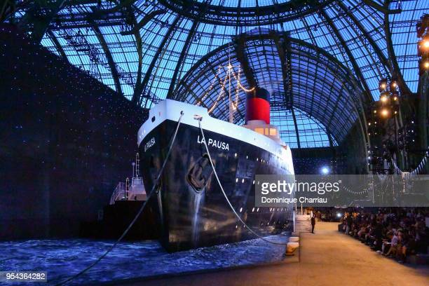 Atmosphere during the Chanel Cruise 2018/2019 Collection at Le Grand Palais on May 3 2018 in Paris France