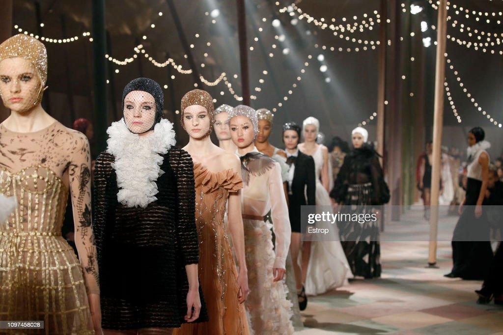 Christian Dior : Details - Paris Fashion Week - Haute Couture Spring Summer 2019 : ニュース写真