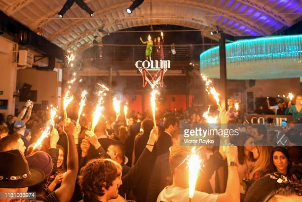 Atmosphere during the Collini Unminimal Party part of Milan Fashion Week Autumn / Winter 2019/20 on February 20 2019 in Milan Italy