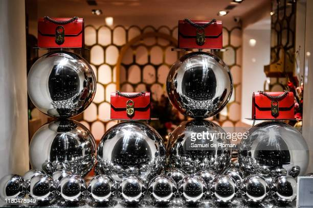 Atmosphere during the ELISA bag collection presentation at the Christian Louboutin store on November 6, 2019 in Madrid, Spain.