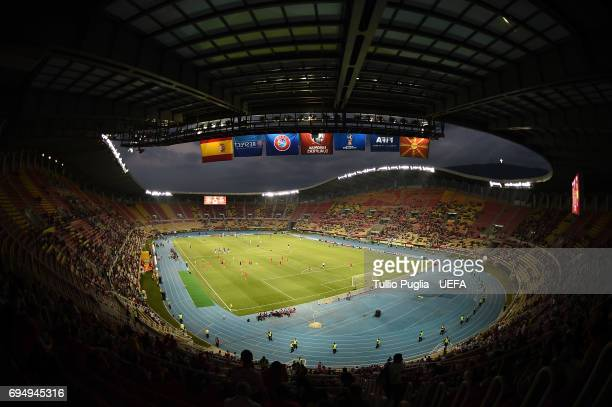 Atmosphere during the FIFA 2018 World Cup Qualifier between FYR Macedonia and Spain at Nacional Arena Filip II Makedonski on June 11 2017 in Skopje...