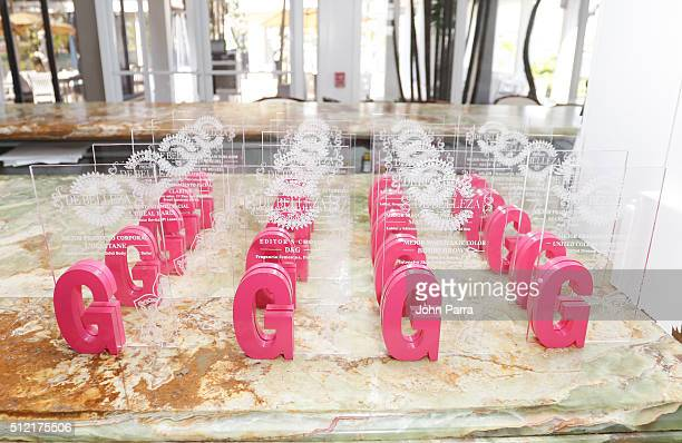 Atmosphere during the Glamour Beauty Awards Latin America 2016 at Palmeira Beach Club on February 24 2016 in Miami Florida