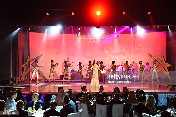 Atmosphere during the Golden Foot Award 2014 ceremony at Sporting Club on October 13 2014 in MonteCarlo Monaco
