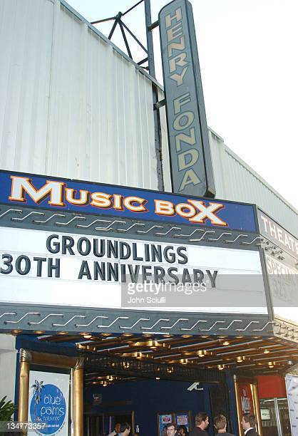 Atmosphere during The Groundlings Hit The Big 30 Arrivals and Show at The Henry Fonda Theater in Hollywood California United States