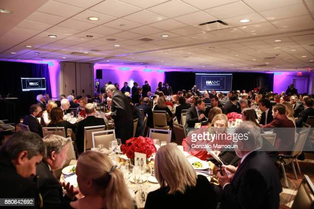 Atmosphere during the Hotel Association of New York City hosts 'The Red Carpet Hospitality Gala' HANYC's Annual Dinner/Dance at Sheraton New York...