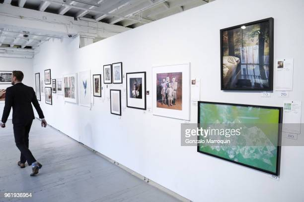 Atmosphere during the Humane Society Of New York In Partnership With Aperture Foundation Fine Art Photography Benefit Auction on May 23 2018 in New...