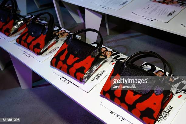 Atmosphere during the Jeremy Scott collection during the September 2017 New York Fashion Week The Shows on September 8 2017 in New York City