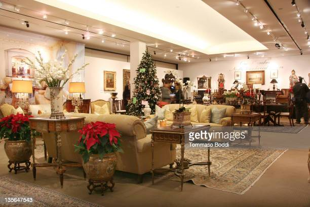 Atmosphere during the Julien's press preview for the exhibition and auction of antique and modern furniture and other collectibles from Michael...