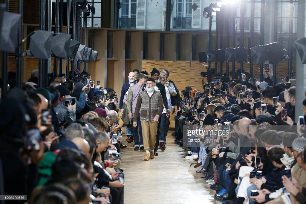 Junya Watanabe Men : Runway - Paris Fashion Week - Menswear F/W 2019-2020 : ニュース写真