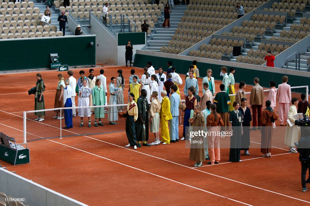 Lacoste : Runway - Paris Fashion Week - Womenswear Spring Summer 2020 : News Photo