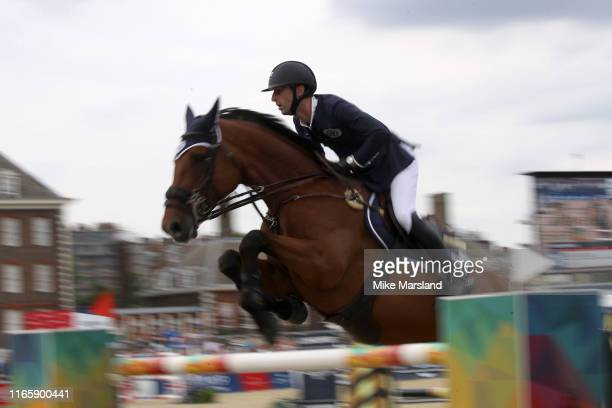 Atmosphere during the Longines Global Champions Tour of London 2019 at Royal Hospital Chelsea on August 03, 2019 in London, England.