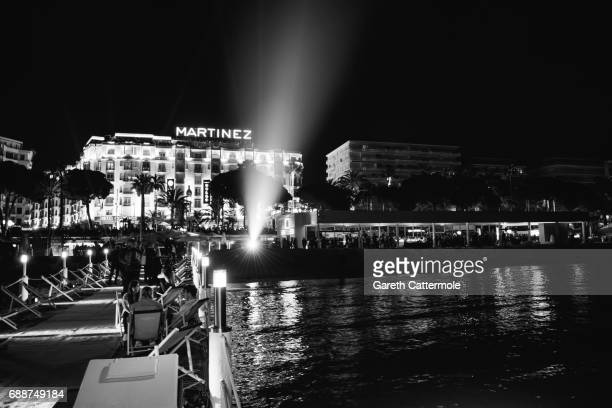 Atmosphere during the L'Oreal Paris Cinema Club party during the 70th Cannes Film Festival at Martinez Hotel on May 24 2017 in Cannes France