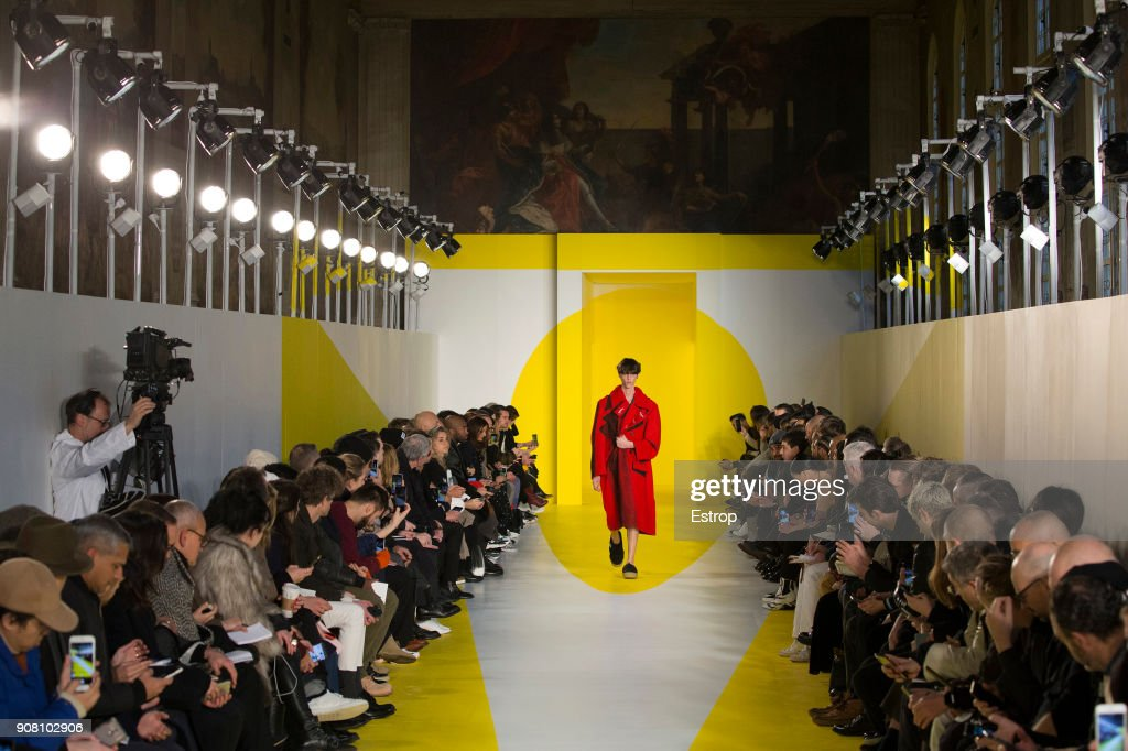 Maison Margiela : Details - Paris Fashion Week - Menswear F/W 2018-2019 : ニュース写真