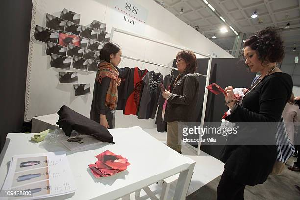 Atmosphere during the Mi Milano PretAPorter Fashion Trade Show on February 25 2011 in Milan Italy