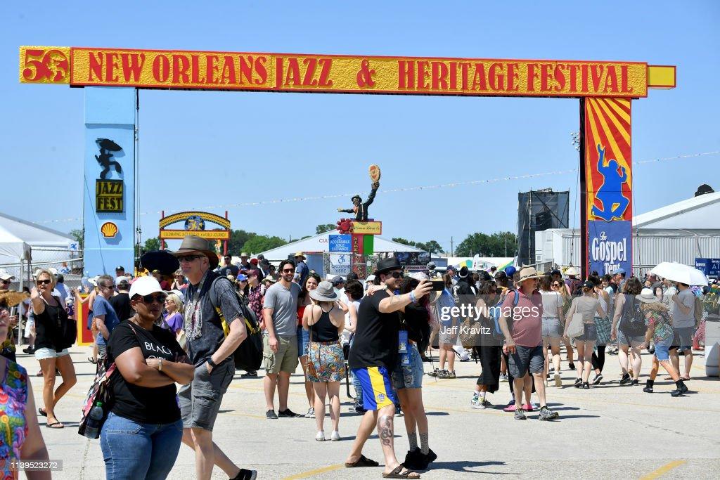 2019 New Orleans Jazz & Heritage Festival - Day 2 : Foto di attualità