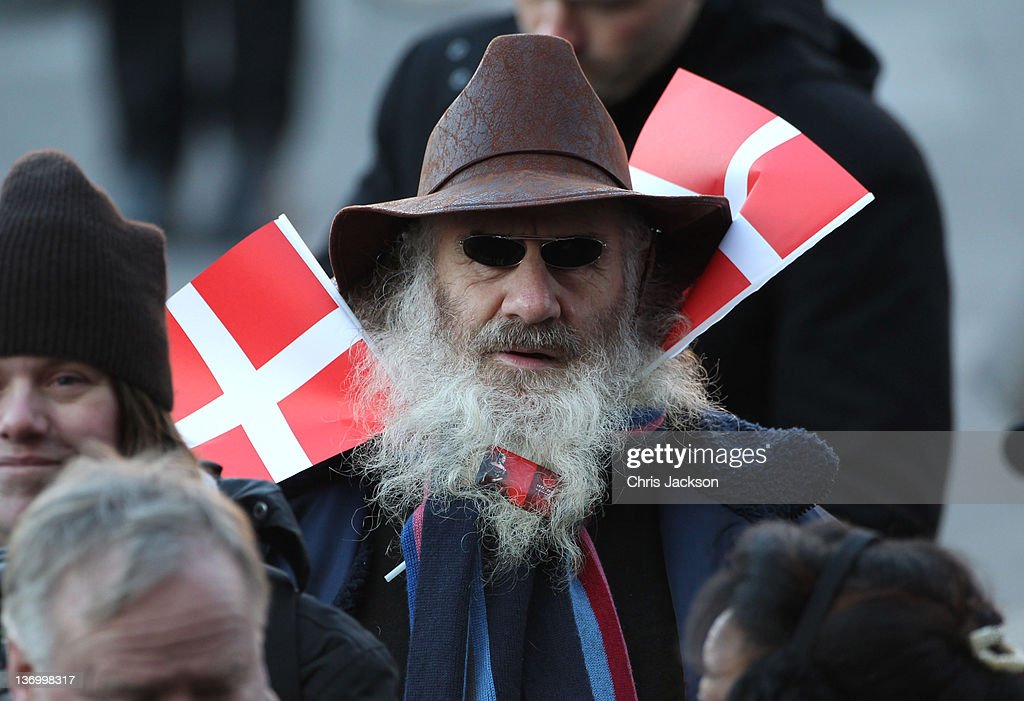 Atmosphere during the official reception to celebrate Queen Margarethe II of Denmark's 40 years on the throne at City Hall on January 14, 2012 in Copenhagen, Denmark.