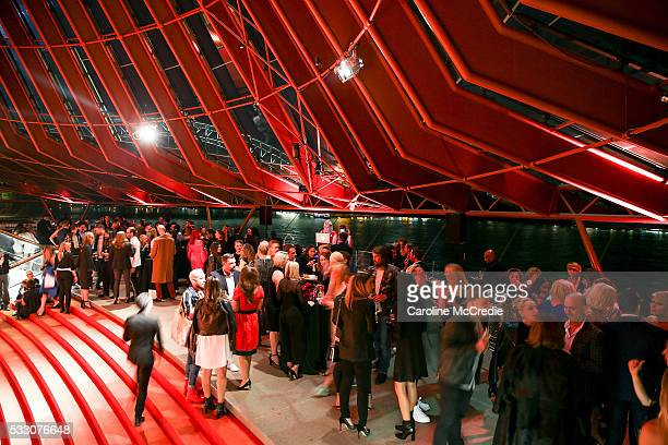 Atmosphere during the Oscar de la Renta after party presented by Etihad Airways at MercedesBenz Fashion Week Resort 17 Collections at the Sydney...