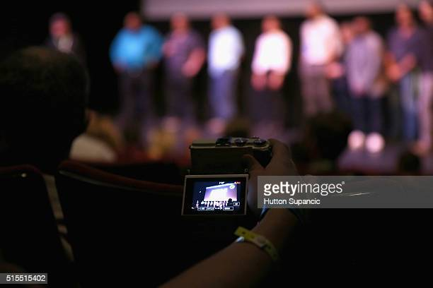 Atmosphere during the premiere of Accidental Courtesy Daryl Davis Race America during the 2016 SXSW Music Film Interactive Festival at Stateside...