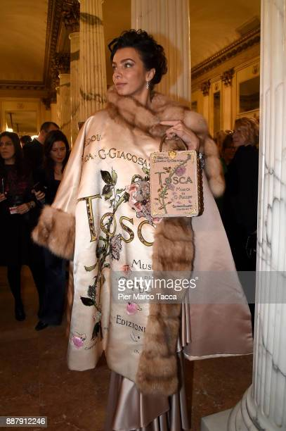 Atmosphere during the Prima Alla Scala at Teatro Alla Scala on December 7 2017 in Milan Italy