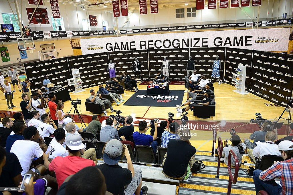 Atmosphere during the Reebok Classic Breakout Classic Rap Roundtable at Philadelphia University on July 9, 2014 in Philadelphia, Pennsylvania.