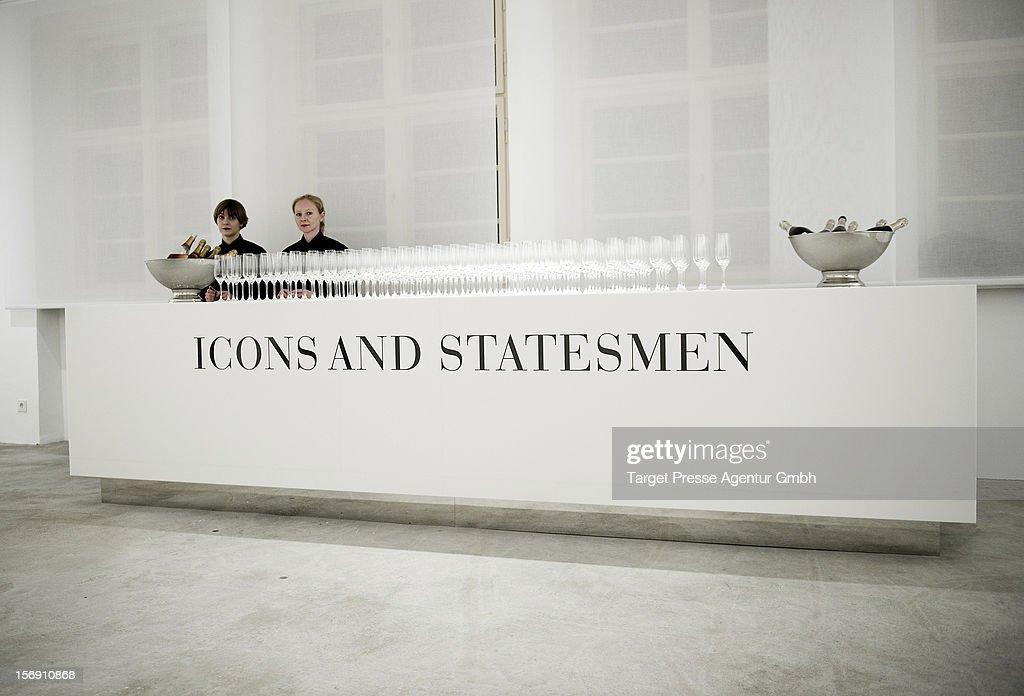 Atmosphere during the Re-Opening of the JFK Museum Berlin on November 24, 2012 in Berlin, Germany.
