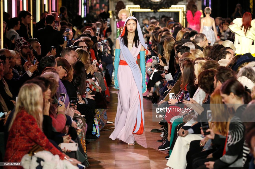 Schiaparelli : Runway - Paris Fashion Week - Haute Couture Spring Summer 2019 : News Photo