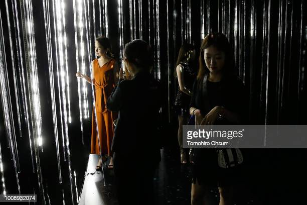 Atmosphere during the Shiseido Makeup Tokyo Launch Event on August 1 2018 in Tokyo Japan