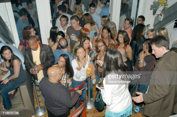 Atmosphere during The Star Rooms 2005 Memorial Day Party with Special Guest DJ AM at Star Room in East Hampton, New York, United States.