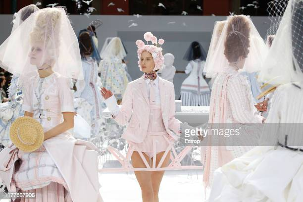 Atmosphere during the Thom Browne Womenswear Spring/Summer 2020 show as part of Paris Fashion Week on September 29, 2019 in Paris, France.