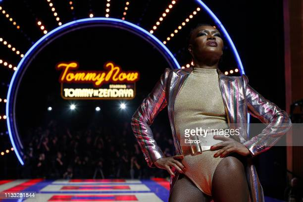Atmosphere during the Tommy Hilfiger TOMMYNOW Spring 2019 TommyXZendaya Premieres at Theatre des ChampsElysees on March 2 2019 in Paris France