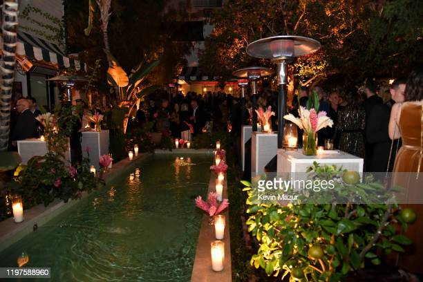 Atmosphere during the Vanity Fair Amazon Studios and Audi Celebrate The 2020 Awards Season at San Vicente Bungalows on January 04 2020 in West...