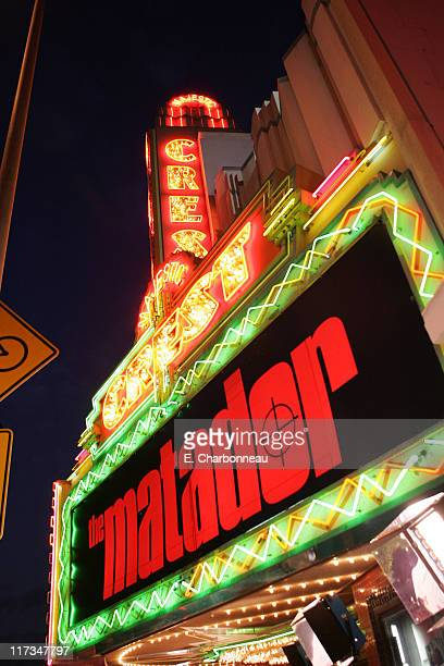 """Atmosphere during The Weinstein Company's """"The Matador"""" Los Angeles Premiere at Westwood Crest Theatre/GM Penthouse in Los Angeles, California,..."""