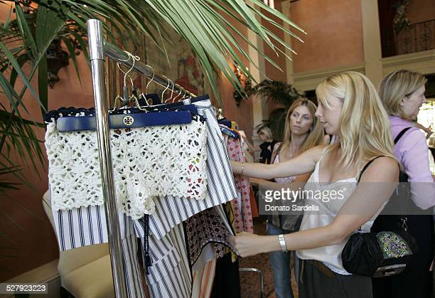 Atmosphere during Tory by TRB Spring Summer 2005 Collection Trunk Show Hosted by Colleen Bell at Private Home in Los Angeles, California, United...