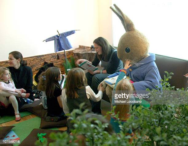 """Atmosphere during Tribeca Cinema Series Hosts """"Miss Potter"""" Tea Party and Beatrix Potter Gallery Launch at Tribeca Cinemas Gallery in New York City,..."""