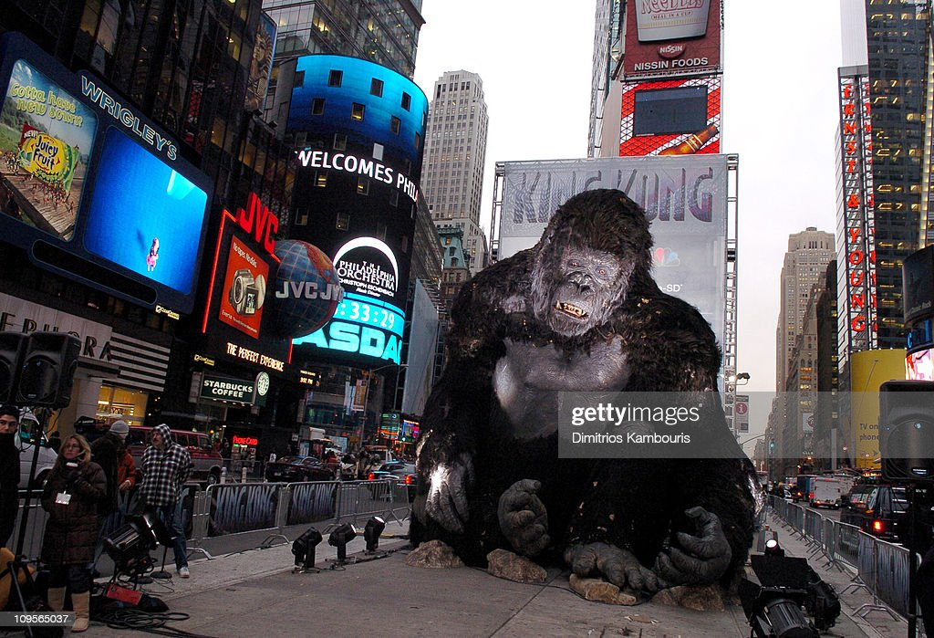 """Universal Pictures' """"King Kong"""" New York Premiere - Press Conference : News Photo"""