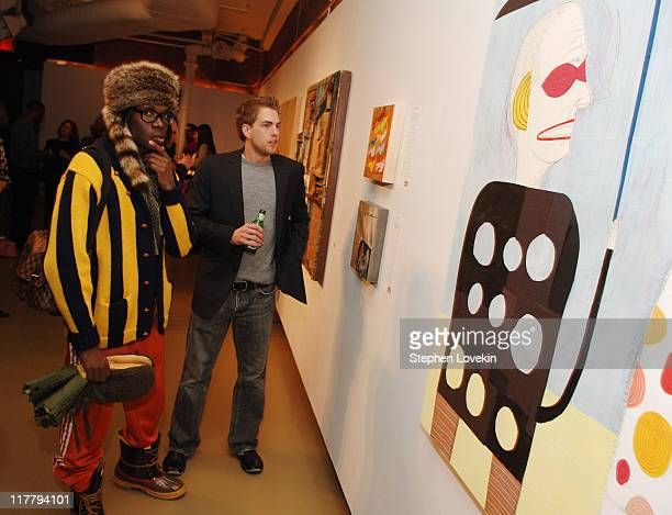 Atmosphere during Virgin Mobile ReGeneration Art Auction and Party December 13 2006 at The Xchange in New York New York United States