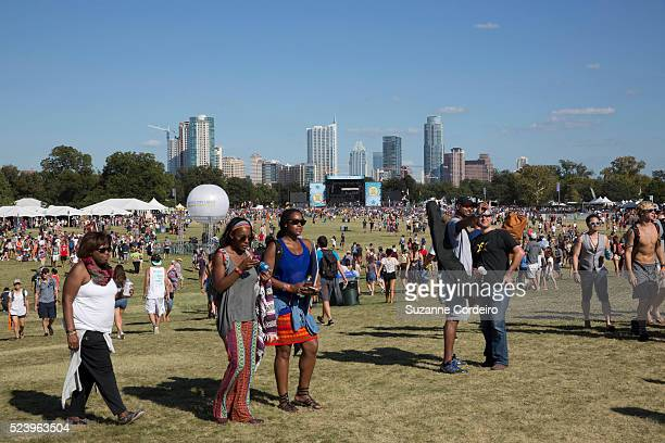 Atmosphere during weekend one day two of the Austin City Limits Music Festival at Zilker Park on October 5 2014 in Austin Texas