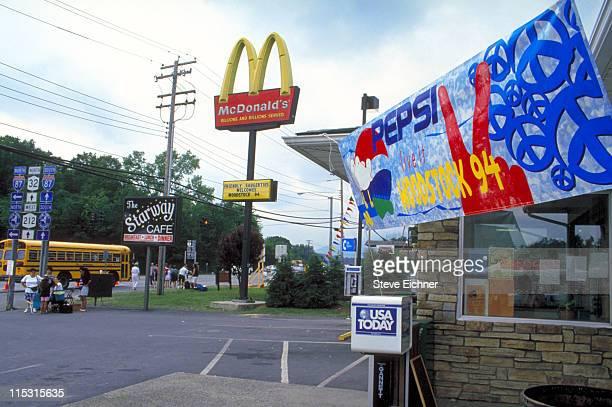 Atmosphere during Woodstock '94 in Saugerties, New York - August 1994 in Saugerties, New York, United States.