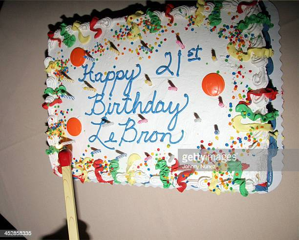Outstanding Lebron James 21St Birthday Party With Performance By Lil Wayne Personalised Birthday Cards Petedlily Jamesorg
