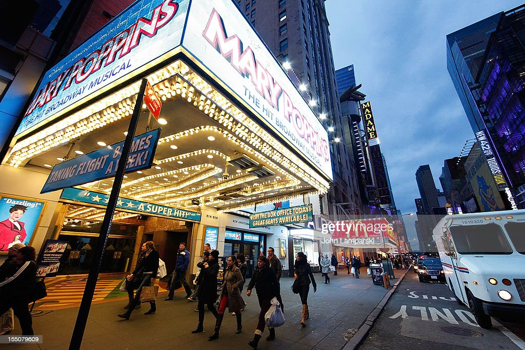 Broadway Re-Opens Following Hurricane Sandy