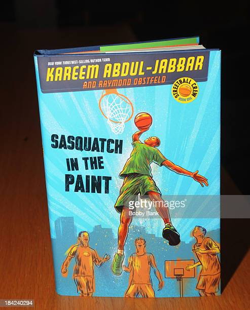 Atmosphere for Kareem Abdul Jabbar's new children's book Sasquatch In The Paint at Barnes Noble bookstore at The Grove on October 12 2013 in Los...